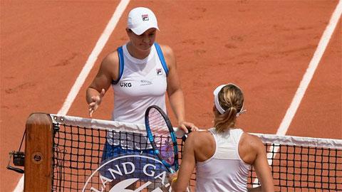 Tay vợt số một thế giới Ashleigh Barty bỏ cuộc ở Roland Garros 2021