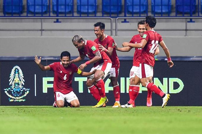 ĐT Indonesia đã giành được điểm đầu tiên tại bảng G.