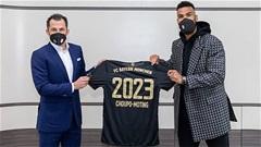 Bayern gia hạn hợp đồng với Choupo-Moting đến năm 2023