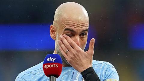 Bố Aguero chỉ trích HLV Guardiola 'nước mắt cá sấu'