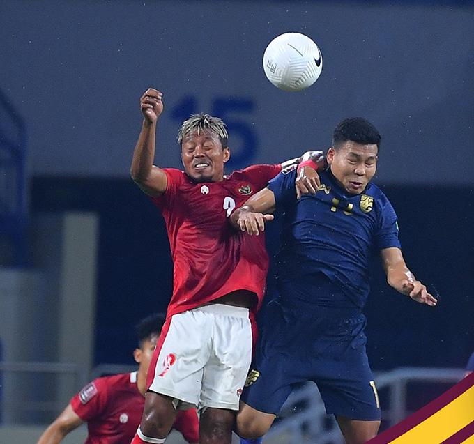 Thái Lan sảy chân đáng trách trước đội bét bảng Indonesia