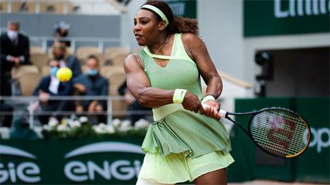 Serena Williams lần đầu vào vòng bốn Roland Garros sau 3 năm