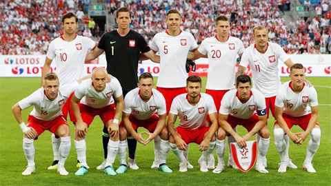 ĐT Ba Lan trên đôi vai các lão tướng