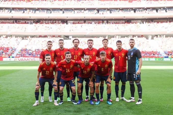 Tây Ban Nha có độ tuổi trung bình trẻ nhất EURO 2020 với 24,1 tuổi