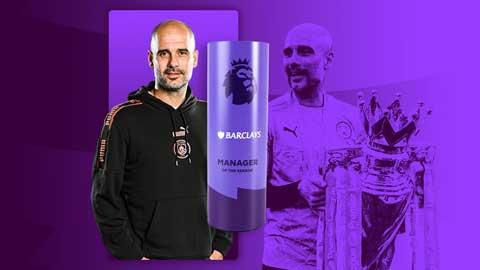 Guardiola giành giải HLV hay nhất Premier League 2020/21