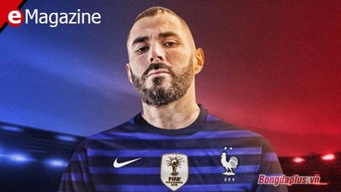 Benzema bất ngờ được dự EURO 2020: Cơ hội cuối cùng cứu chuộc trai hư của nước Pháp