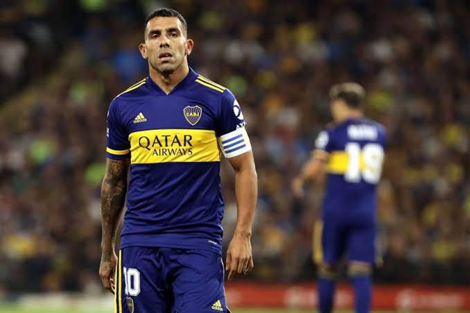 Tevez thành công tại Boca Juniors