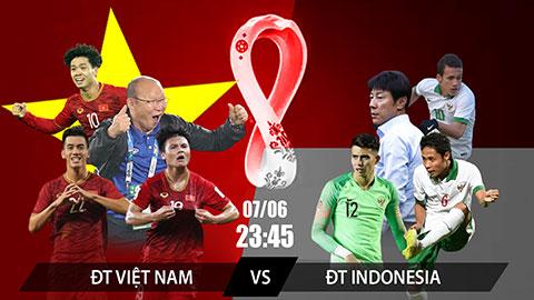 23 giờ 45 hôm nay, tuyển Việt Nam- tuyển Indonesia: Chiến thắng để mở cơ hội lịch sử