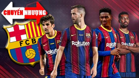 Tin chuyển nhượng 6/6: Barca sắp 'xả hàng' 4 ngôi sao
