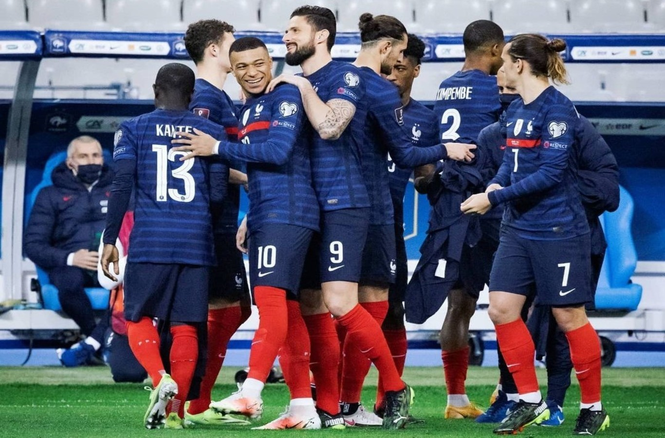 Pháp là ứng viên số 1 cho chức vô địch