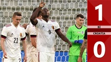 Bỉ vs Croatia: 1-0 (Giao hữu quốc tế 2021)