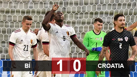 Kết quả Bỉ 1-0 Croatia: Khác biệt Lukaku