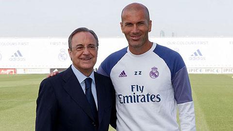 Real không bắt Zidane nộp 10 triệu euro tiền phạt