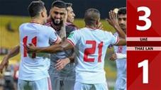 UAE vs Thái Lan: 3-1 (vòng loại World Cup 2022)