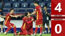 Việt Nam vs Indonesia: 4-0 (vòng loại World Cup 2022)