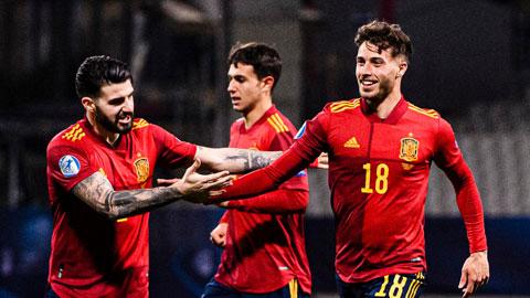 Các ngôi sao trẻ của ĐT Tây Ban Nha sẽ nở nụ cười chiến thắng trước Lithuania