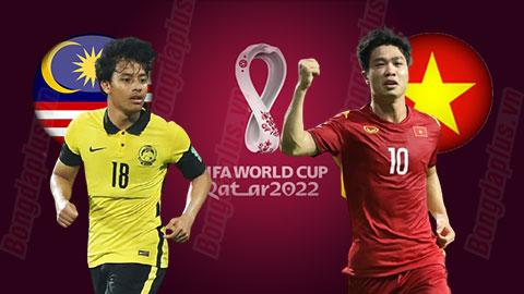 Nhận định vòng loại World Cup 2022, Malaysia vs Việt Nam, 23h45 ngày 11/6:  Đừng