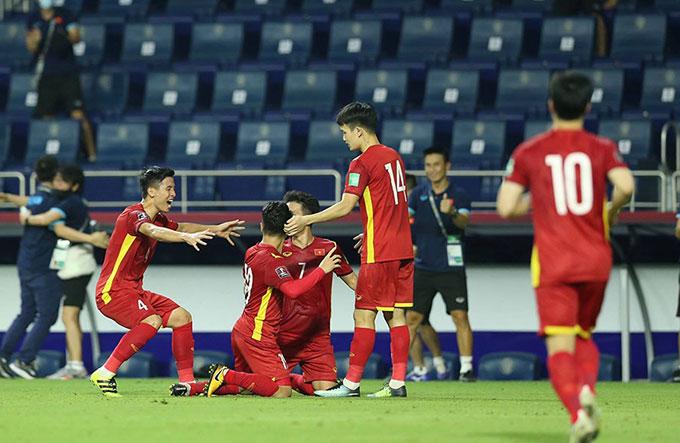 Việt Nam đã có một hiệp 2 bùng nổ với 4 bàn thắng tuyệt đẹp - Ảnh: Minh Anh