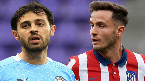 Atletico đề nghị đổi Saul lấy Bernardo Silva