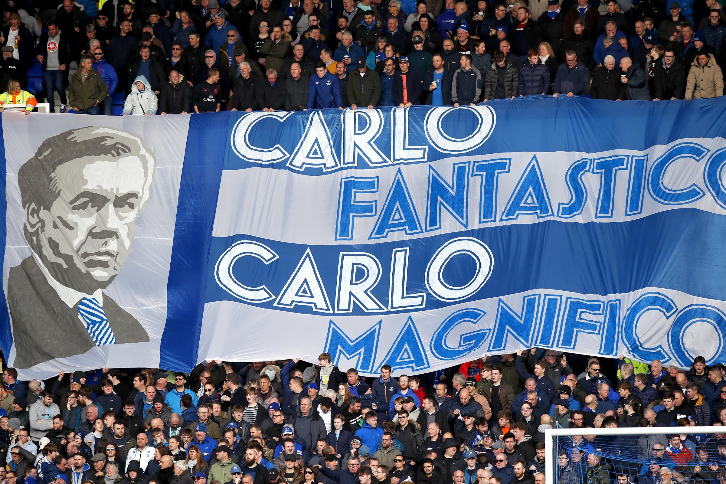 Ancelotti đã có 17 tháng đẹp đẽ tại Everton nhưng không làm tròn lời hứa nâng tầm CLB của mình