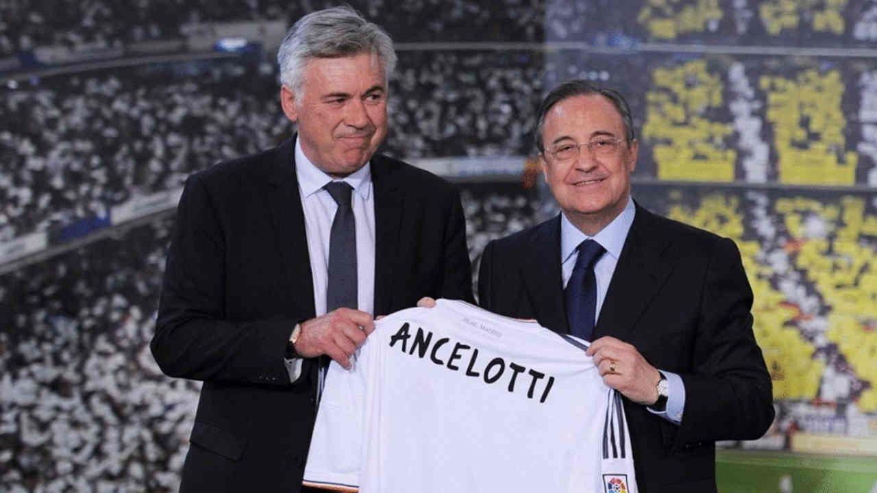 Cho dù đã bị sa thải một cách trân trọng nhưng Ancelotti vẫn gật đầu khi được Perez ngỏ lời