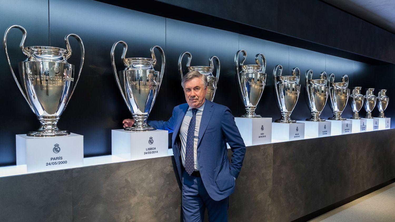 Ánh sáng của Real Madrid là thứ cuốn hút không thể cưỡng nổi với Ancelotti