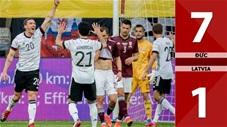 Đức vs Latvia: 7-1 (Giao hữu quốc tế 2021)
