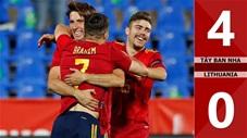 Tây Ban Nha vs Lithuania: 4-0 (Giao hữu quốc tế 2021)