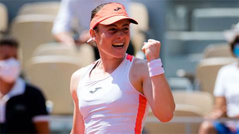 'Ngựa ô' Tamara Zidansek làm nên lịch sử ở Roland Garros