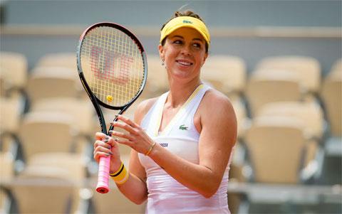 Ở lần thứ 50 dự Grand Slam, Anastasia Pavlyuchenkova đã có lần đầu tiên vào bán kết