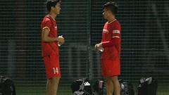 Tuấn Anh phải tập riêng, khó thi đấu trận Việt Nam vs Malaysia