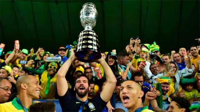 Brazil được chọn làm nước chủ nhà Copa America 2021