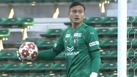 Đặng Văn Lâm giữ sạch lưới, giúp Cerezo Osaka thoát chuỗi trận bết bát