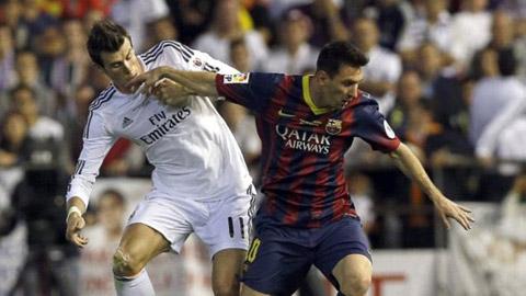 Messi vắng mặt ở đội hình những đối thủ nhiều duyên nợ nhất với Bale