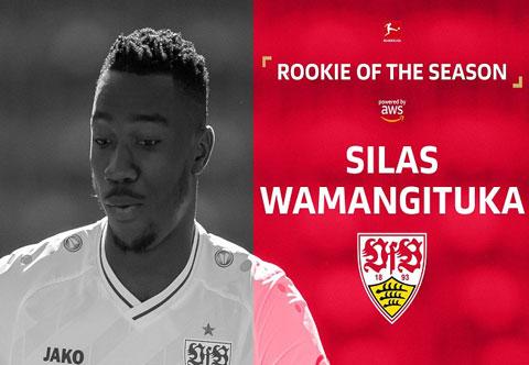 Silas được bầu chọn là phát hiện tại Bundesliga 2020/21