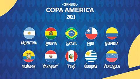 Lịch thi đấu Copa America 2021