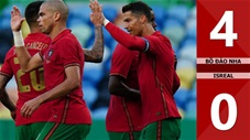 Bồ Đào Nha vs Israel: 4-0 (Giao hữu Quốc tế 2021)