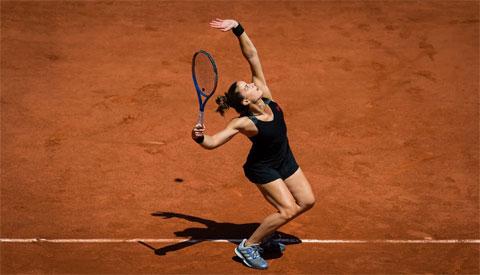 Maria Sakkari lần đầu vào bán kết một giải Grand Slam