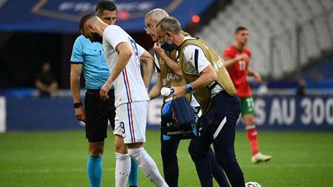 ĐT Pháp thở phào với chấn thương của Benzema