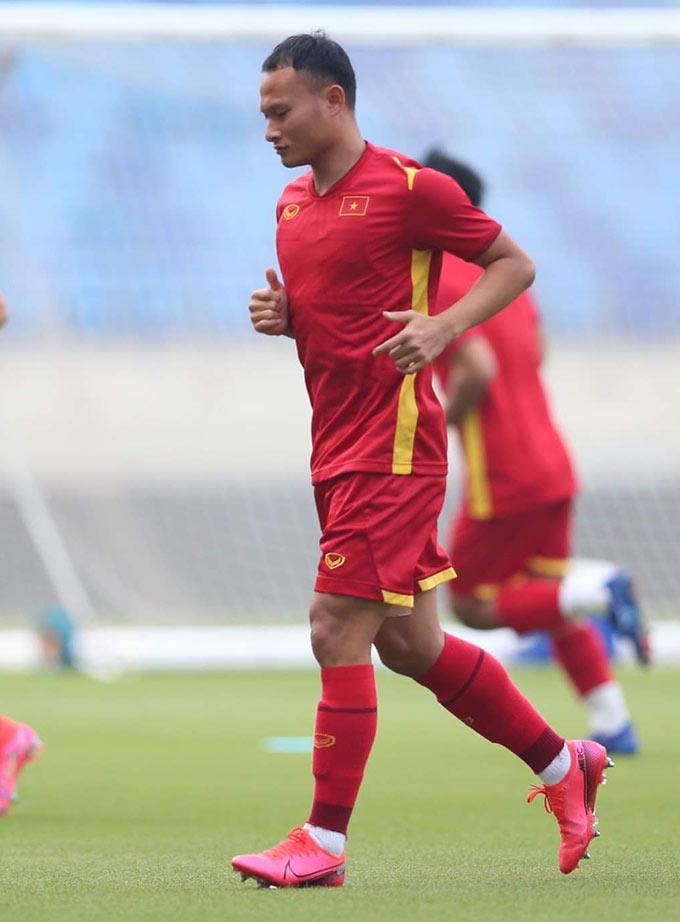 Ở trận đấu này, Việt Nam đón chào sự trở lại của hậu vệ Trọng Hoàng sau án treo giò. Ở AFF Cup 2016, Trọng Hoàng từng ghi bàn vào lưới Malaysia