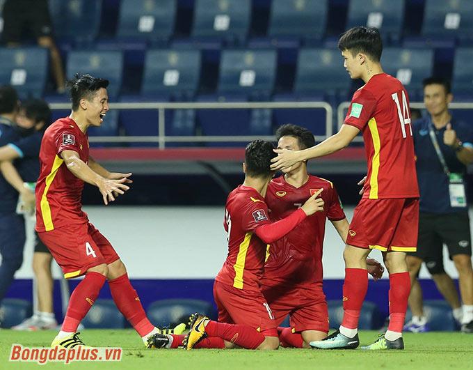 Đội tuyển Việt Nam có nhiều cơ hội đi tiếp - Ảnh: Minh Anh