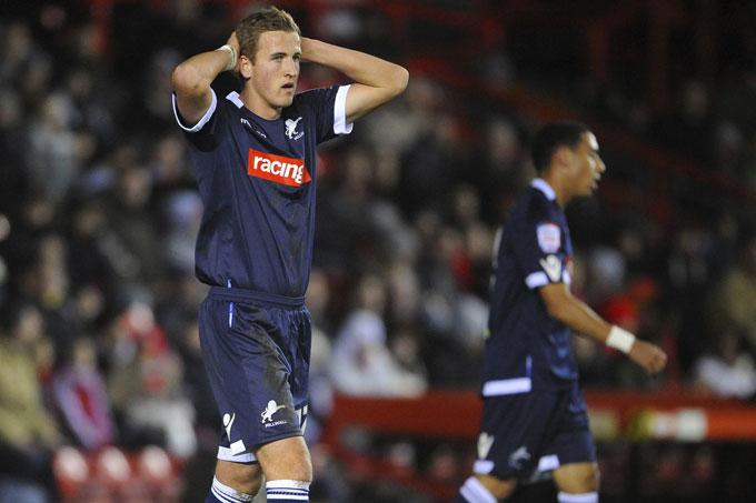 Kane gặp nhiều khó khăn trong màu áo Millwall