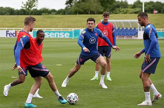 Maguire đã tập luyện bình thường