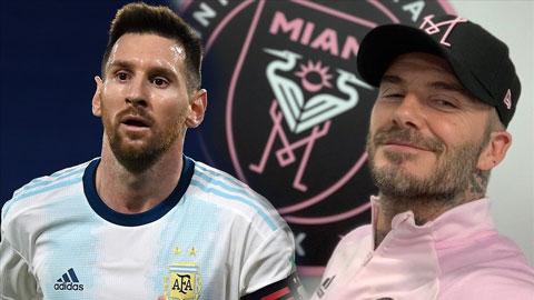 Đội bóng của Beckham tự tin sắp chiêu mộ thành công Messi