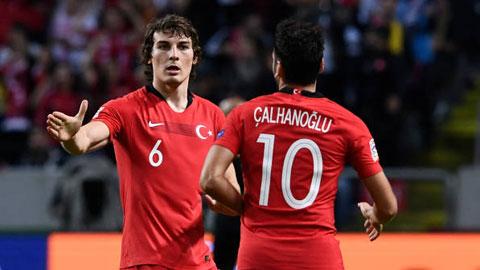 Caglar Soyuncu, lá cờ đầu của ĐT Thổ Nhĩ Kỳ