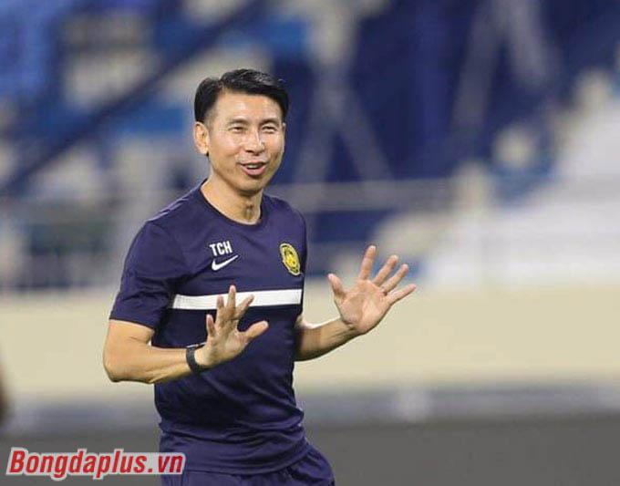 HLV Tan Cheng Hoe muốn các cầu thủ thoải mái trước khi bước vào tập luyện nghiêm túc