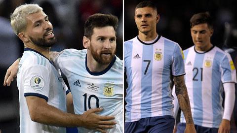 Danh sách ĐT Argentina dự Copa America 2021: Có Messi, Aguero không Dybala, Icardi