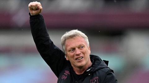 Moyes đồng ý ở lại West Ham thêm 3 năm bất chấp Everton ve vãn