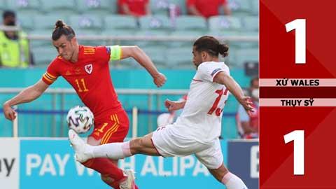 Xứ Wales vs Thụy Sỹ: 1-1, VAR giúp xứ Wales thoát thua