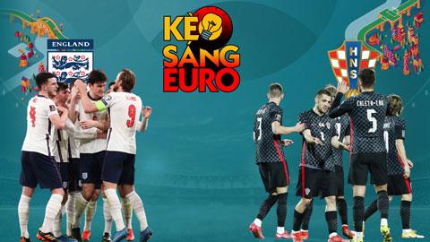 KÈO sáng EURO 2020 ngày 13/6: Anh sẽ 'rửa hận' Croatia